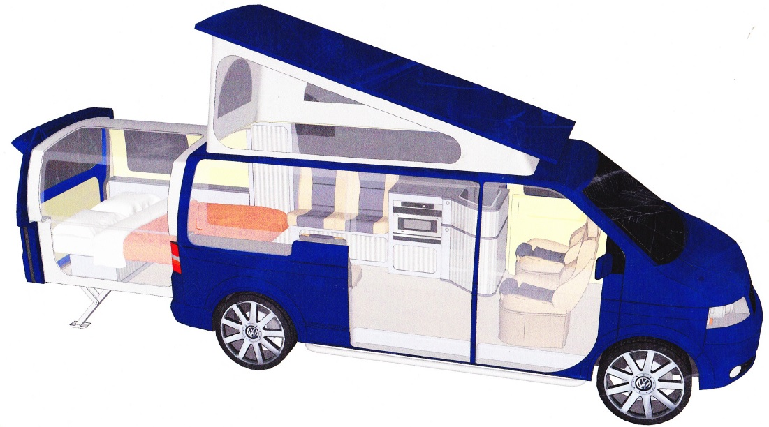 volkswagen t5 doubleback. Black Bedroom Furniture Sets. Home Design Ideas