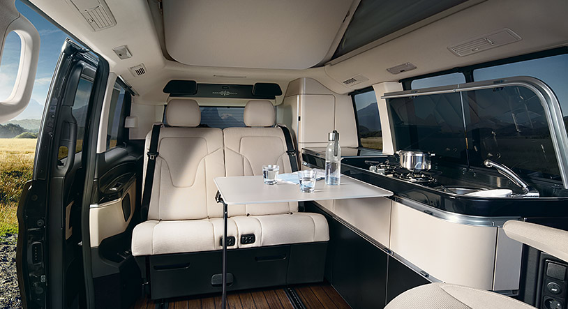 marco polo a motorhome by mercedes. Black Bedroom Furniture Sets. Home Design Ideas