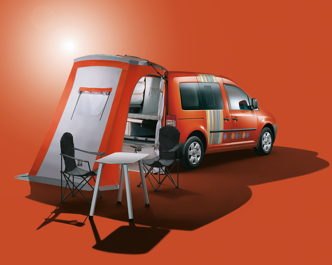 Vw Campervan Accessories >> VW Caddy Tramper - a motorhome for every day • CampRest.com