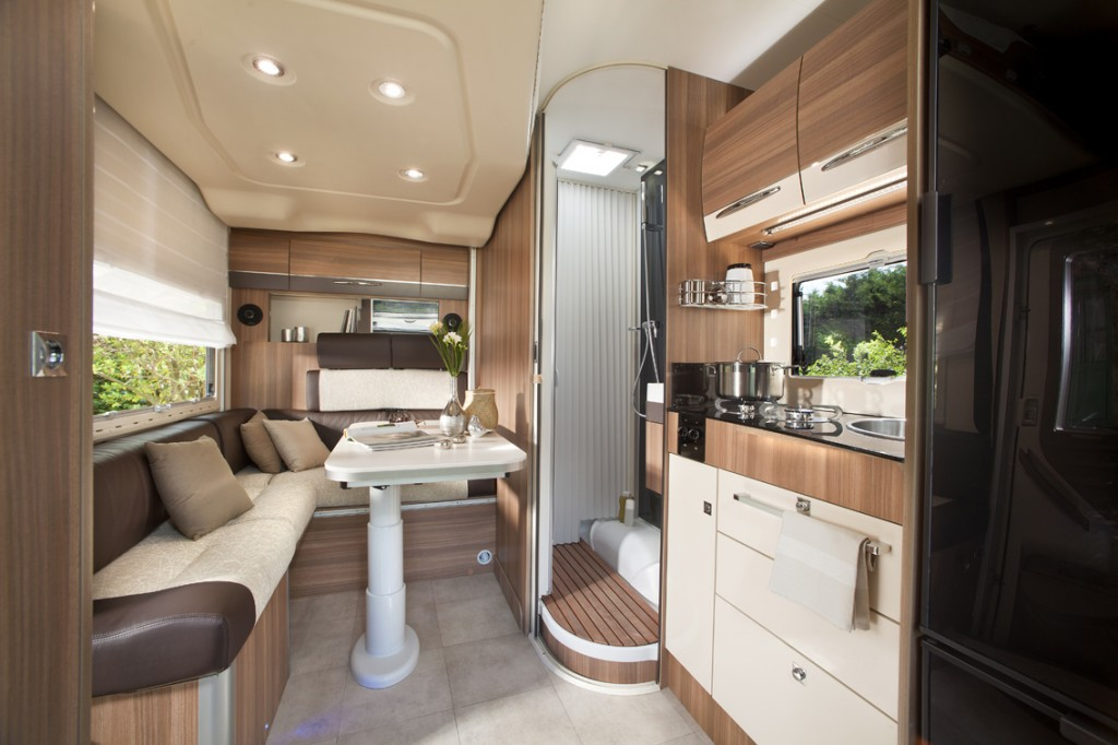 Semi Integrated Motorhome By Chausson Welcome Camprest Com