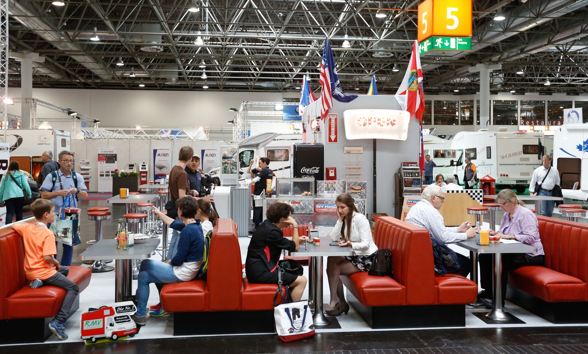 Caravanning fair in Dusseldorf 2014 • CampRest.com