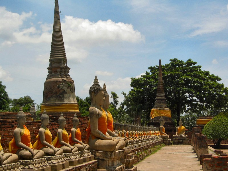 ayutthaya the historical capital of thailand. Black Bedroom Furniture Sets. Home Design Ideas