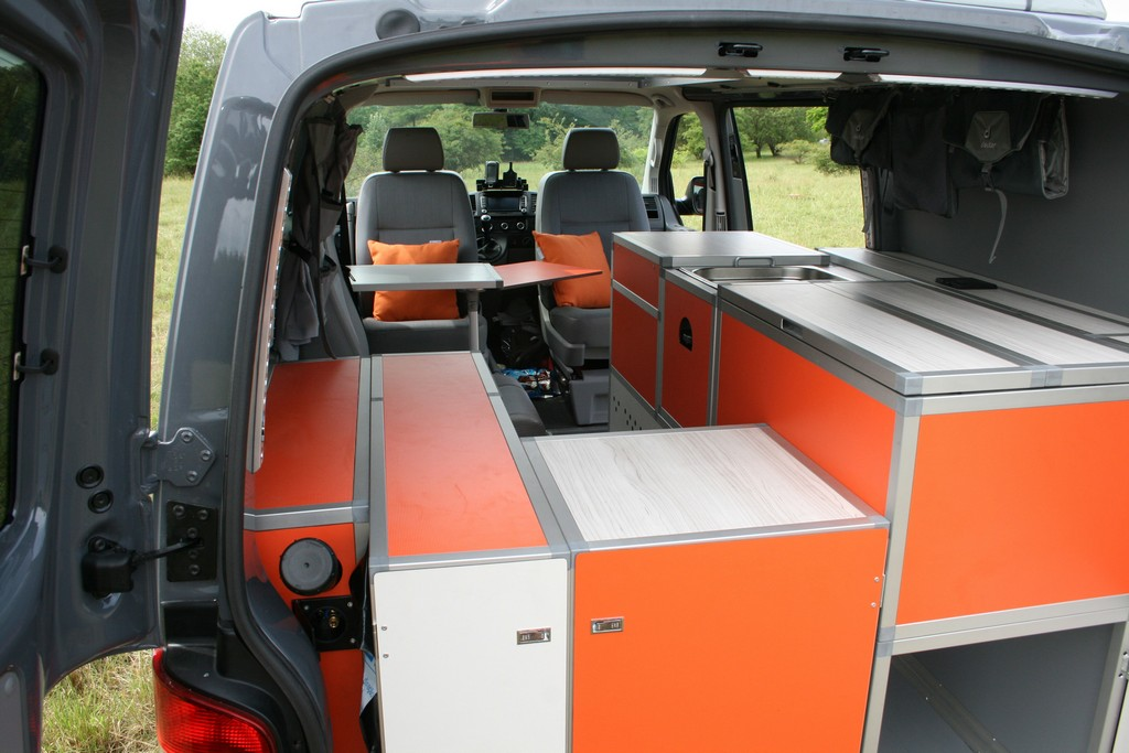 Volkswagen T5 Terock A Camper Made Of Blocks Camprest Com