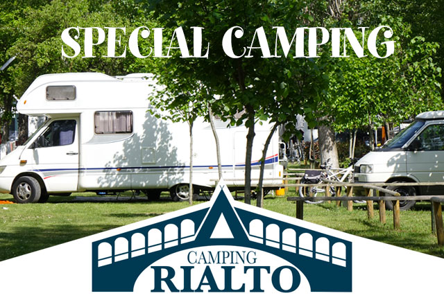 CAMPING SPECIAL LOW SEASON - 2 PERSONS INCLUDED