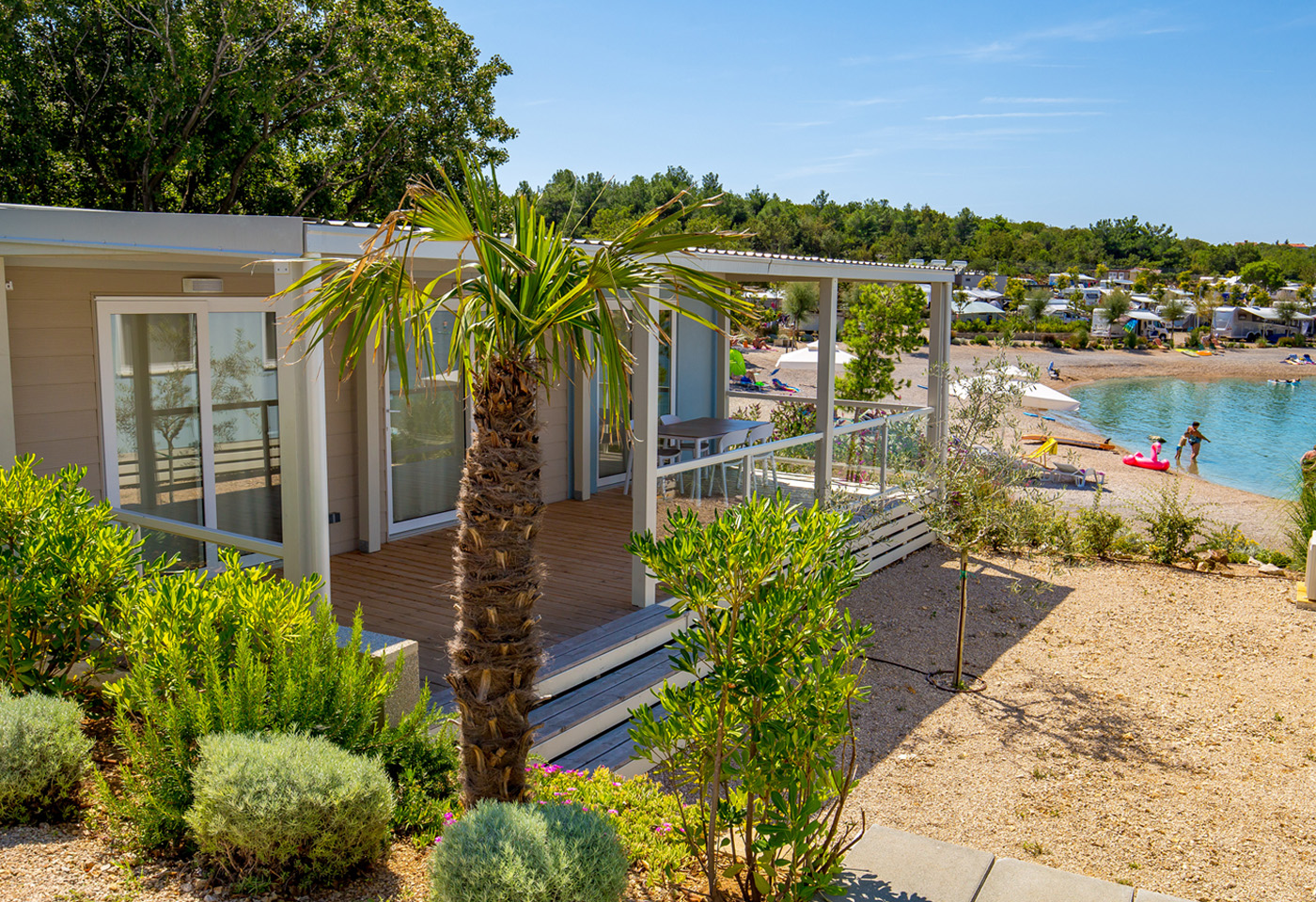 15% discount on accommodation in fully equipped mobile home